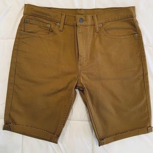 Levi's 511 Men's Slim Cutoff Shorts - 36W (EUC)